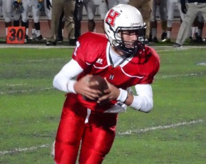 Menifee Heritage's third-year starting QB, Brett Virgil, committed to Army.