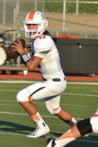 Riverside Poly senior QB Alex Lewis leads the Bears vs. Rubidoux tonight.