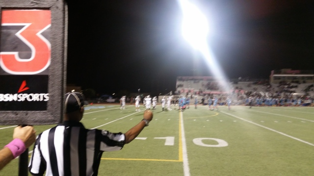 Jurupa Valley Patriot faced a lot of 3rd-and-long situations vs. Riverside Ramona in Week 8.