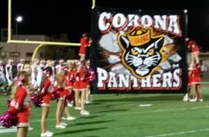 Corona High's football team had a 5-3 overall record coming into its Week 9 game at Corona Centennial.