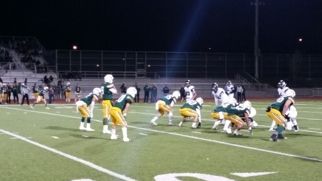 Riverside Notre Dame's offense did click until the second half of its 34-6 victory over San Bernardino Aquinas in Week 13.