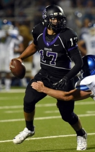 Rancho Cucamonga QB Angel Matute looks for his first career win vs. Upland tonight in Week 10.