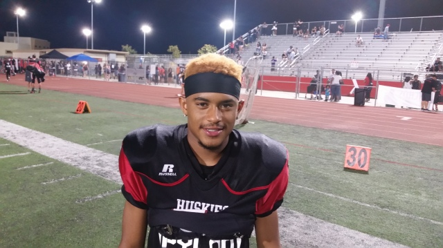 Corona Centennial senior Cameron Jackson was underrated coming into the 2015 season but has starred for the Huskies.