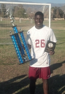 Titus Nickson was MVP of the 2014 San Gorgonio Shootout.