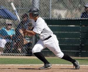 Murrieta Mesa senior catcher Andy Thomas