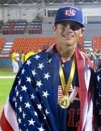 Branden Boissiere was the winning pitcher at the Under-15 Pan American Championships in Mexico last August.