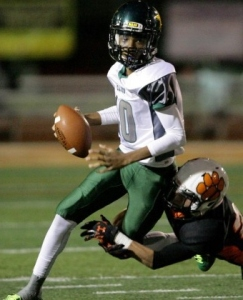 San Bernardino Cajon QB Jayden Daniels will be looking to avoid a sophomore slump.